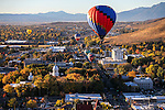 Nevada Day balloon launch over downtown Carson City, Nev., on Saturday, Oct. 31, 2015. <br /> Photo by Cathleen Allison