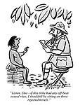 """""""Listen, Doc—if this tribe had any off-beat sexual rites, I shouldn't be sitting on three rejected novels."""""""