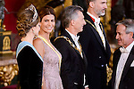 XXX during the gala dinner given to the President of the Argentine Republic, Sr. Mauricio Macri and Sra Juliana Awada at Real Palace in Madrid, Spain. February 19, 2017. (ALTERPHOTOS/BorjaB.Hojas)