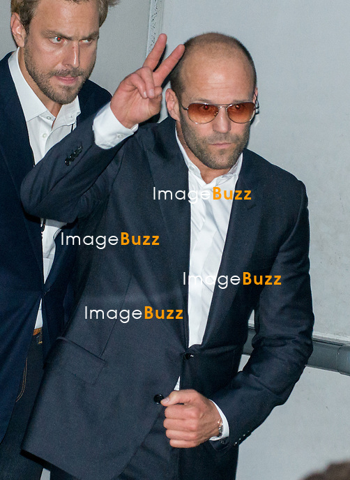 Jason Statham attends the ' Expendable 3' Movie Premiere at the 'UGC Normandie, in Paris.<br /> Paris, France, August 7, 2014.