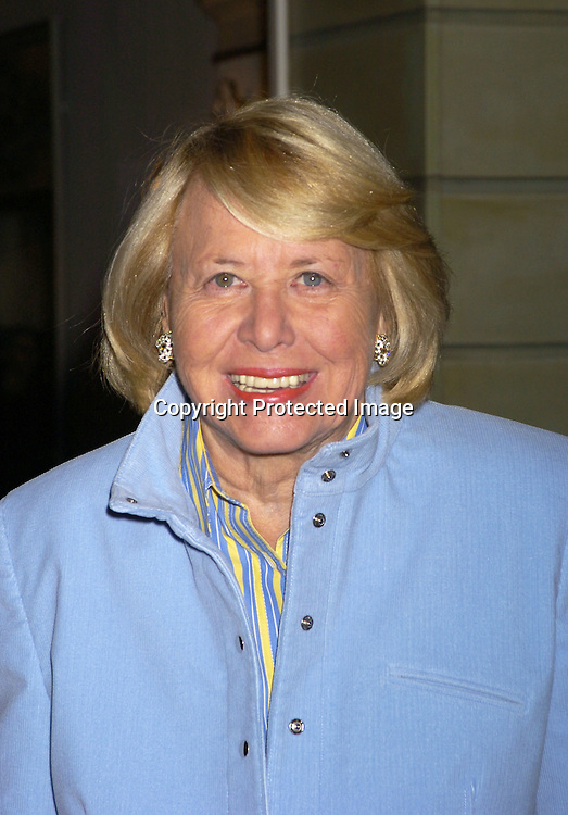 Liz Smith ..at the PAL 16th Annual Women of the Year Luncheon honoring Kelly Ripa, Paul Zahn and Cindi Stivers on October 26, 2004 at the Pierre Hotel. ..Photo by Robin Platzer, Twin Images