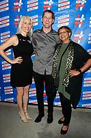 LOS ANGELES - SEP 25: Guest, Aris Anagnos, Denice Nichols at 'Pat Harris' California Democratic U.S. Senate run 2018 kick off' at Catalina Jazz Club Bar & Grill on September 25, 2017 in Hollywood, California
