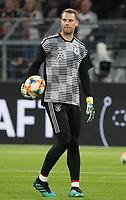Torwart Manuel Neuer (Deutschland Germany) - 09.10.2019: Deutschland vs. Argentinien, Signal Iduna Park, Freunschaftsspiel<br /> DISCLAIMER: DFB regulations prohibit any use of photographs as image sequences and/or quasi-video.