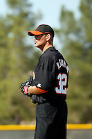 Matt Graham - San Francisco Giants 2009 Instructional League. .Photo by:  Bill Mitchell/Four Seam Images..