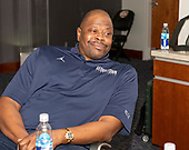 Patrick Ewing, head coach for men's basketball at Georgetown University is photographed in his office at the university in Washington, DC on Friday, October 19, 2018.<br /> Credit: Ron Sachs / CNP<br /> (RESTRICTION: NO New York or New Jersey Newspapers or newspapers within a 75 mile radius of New York City)