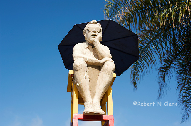 The Thinker, Cedros Design District, Solana Beach