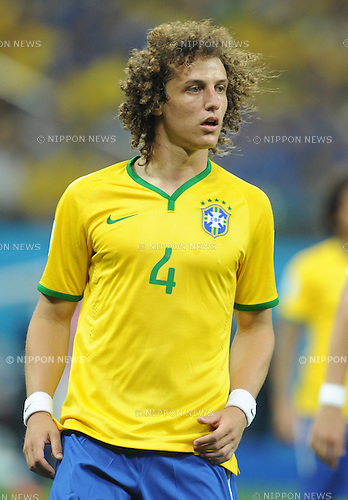 David Luiz (BRA), JUNE 12, 2014 - Football / Soccer : FIFA World Cup Brazil 2014 Group A match between Brazil 3-1 Croatia at Arena de Sao Paulo in Sao Paulo, Brazil. (Photo by SONG Seak-In/AFLO)