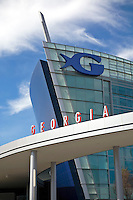 The Georgia Aquarium in Atlanta Georgia