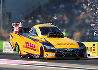 Oct 18, 2015; Ennis, TX, USA; NHRA funny car driver Del Worsham during the Fall Nationals at Texas Motorplex. Mandatory Credit: Mark J. Rebilas-USA TODAY Sports