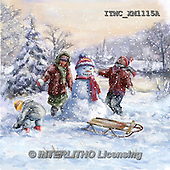 Marcello, CHRISTMAS CHILDREN, WEIHNACHTEN KINDER, NAVIDAD NIÑOS, paintings+++++,ITMCXM1115A,#XK# ,snowman,