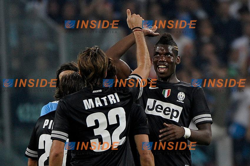 Paul Pogba Juventus.Torino 20/10/2012 Juventus Stadium Torino.Football Calcio 2012/2013 Serie A.Juventus vs Napoli.Foto Federico Tardito Insidefoto.