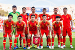 Players of China line up and pose for the photo prior to the AFC Asian Cup UAE 2019 Group C match between China (CHN) and Kyrgyz Republic (KGZ) at Khalifa Bin Zayed Stadium on 07 January 2019 in Al Ain, United Arab Emirates. Photo by Marcio Rodrigo Machado / Power Sport Images