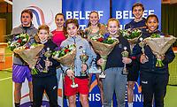 Wateringen, The Netherlands, December 1,  2019, De Rhijenhof , NOJK 12 and16 years, all the finalists 12 and 16 years<br /> Photo: www.tennisimages.com/Henk Koster