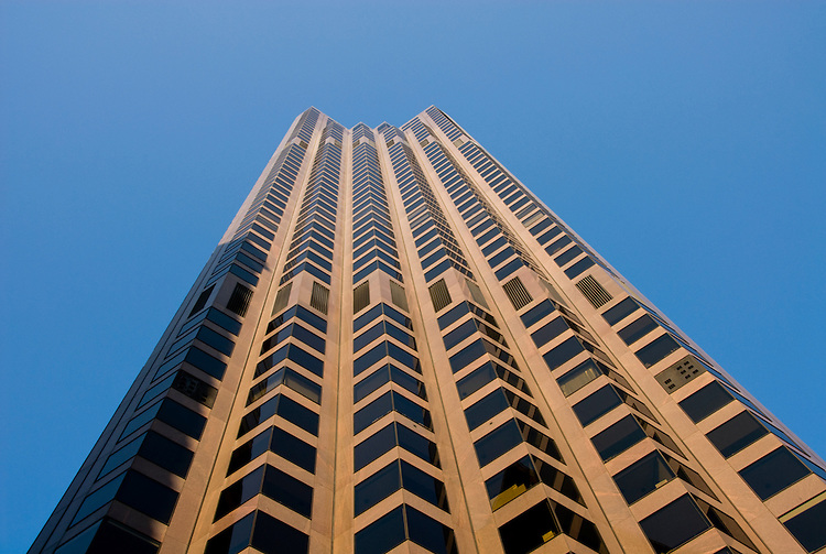 California, San Francisco: Bank of America Building, Financial District. Photo 6-casanf79320. Photo copyright Lee Foster.