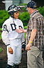 Carol Cedeno & Harry Wyner before The Small Wonder Stakes at Delaware Park on 9/12/15