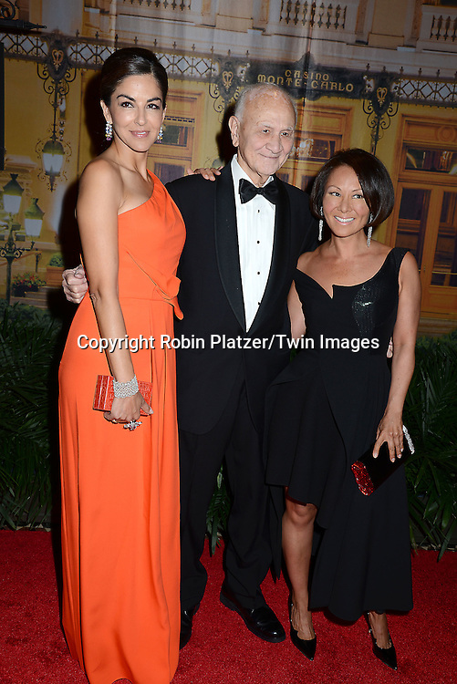 Dayssi Olarte De Kanavos,  Nicholas Scoppetta and Alina Cho attend the New Yorkers for Children's Fall Gala on September 16, 2015 at Cipriani 42nd Street in New York City, New York, USA.<br /> <br /> photo by Robin Platzer/Twin Images<br />  <br /> phone number 212-935-0770