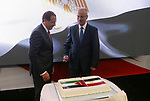 Palestinian Prime Minister Rami Hamdallah attends the ceremony of Egyptian national day, the anniversary of the July revolution in the West Bank city of Ramallah on July 31, 2018. Photo by Prime Minister Office