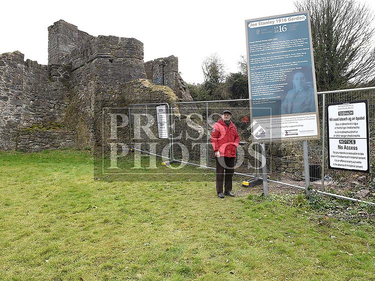 Fintan McCarthy at the Buttergate. Photo:Colin Bell/pressphotos.ie