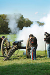 Heritage Days Festival. Union County. Union soldiers with canon.