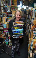 Kate Cosgrove, owner of Bear Flag shop in Masterton, New Zealand on Thursday, 30 July 2020. Photo: Dave Lintott / lintottphoto.co.nz