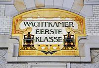 Voormalige Wachtkamer eerste klasse bij Centraal Station in Haarlem