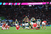 The difference between winning and losing at the end of the Quarter Final (Match 41) of the Rugby World Cup 2015 between South Africa and Wales - 17/10/2015 - Twickenham Stadium, London<br /> Mandatory Credit: Rob Munro/Stewart Communications