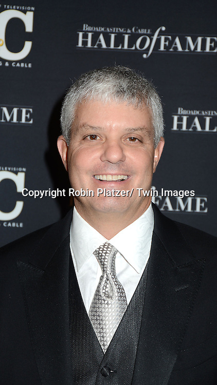 David Levy of Turner Broadcasting attends the Broadcasting and Cable Hall of Fame Awards .on December 17, 2012 at The Waldorf  Astoria Hotel in New York City.