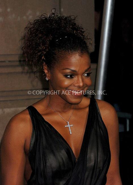WWW.ACEPIXS.COM . . . . .  ....NEW YORK, JUNE 8, 2006....Janet Jackson at the Cartier Charity Love Bracelet Party. ....Please byline: AJ Sokalner - ACEPIXS.COM.... *** ***..Ace Pictures, Inc:  ..(212) 243-8787 or (646) 769 0430..e-mail: picturedesk@acepixs.com..web: http://www.acepixs.com