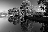 The Caledonian Canal at Corpach near Fort William, Lochaber, Highlands