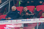 09.11.2019, Allianz Arena, Muenchen, GER, 1.FBL,  FC Bayern Muenchen vs. Borussia Dortmund, DFL regulations prohibit any use of photographs as image sequences and/or quasi-video, im Bild Frank Ribery auf der Tribuene<br /> <br />  Foto © nordphoto / Straubmeier