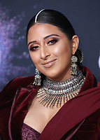 LOS ANGELES, CA - NOVEMBER 24:  Raja Kumari at the 2019 American Music Awards at the Microsoft Theater on November 24, 2019 in Los Angeles, California. (Photo by Frank Micelotta/PictureGroup)