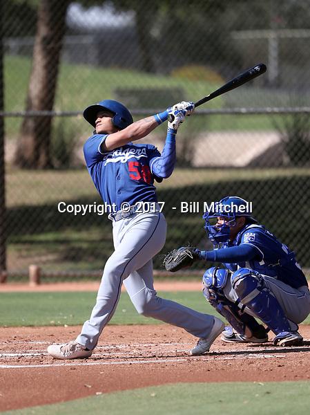 Brayan Morales - 2017 AIL Dodgers (Bill Mitchell)