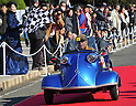 November 27, 2011, Tokyo, Japan - A 1957 German Messerschmitt KR201 Roadster takes part in the fifth Classic Car Festa 2011 in Tokyo on Sunday, November 27, 2011. Some 43,000 spectators watch about 100 domestic and foreign classic and vintage cars parade the gingko-lined streets of the Meiji Shrines Outer Garden in the annual open-air exhibition and parade sponsored by Toyota Automobile Museum. (Photo by Natsuki Sakai/AFLO) [3615] -mis-