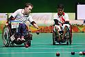 Takayuki Hirose (JPN),<br /> SEPTEMBER 12, 2016 - Boccia : <br /> Mixed Team BC1/BC2 Final<br /> at Carioca Arena 2<br /> during the Rio 2016 Paralympic Games in Rio de Janeiro, Brazil.<br /> (Photo by Shingo Ito/AFLO)