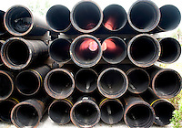 Sewer pipe design.  Clearwater Beach Tampa Bay Area Florida USA