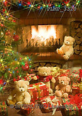 Marek, CHRISTMAS ANIMALS, WEIHNACHTEN TIERE, NAVIDAD ANIMALES, teddies, photos+++++,PLMP3320,#Xa# under Christmas tree,