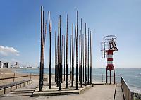 Een Windorgel aan zee bij Vlissingen