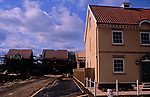A912T9 New private housing estate being constructed Rendlesham Suffolk England