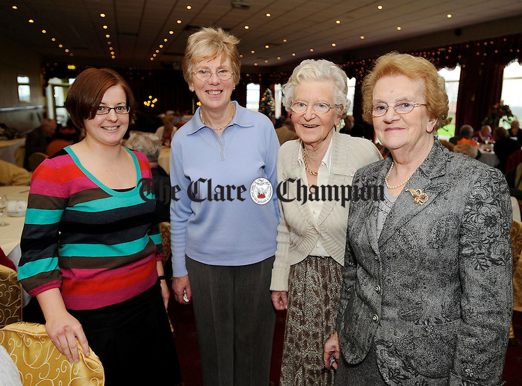 Maura Barry, Community Resource Worker, Marjorie Normoyle, Clare Committee, Connie Farrell and Kitty Leahy.Pic Arthur Ellis.