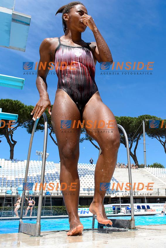 Jennifer Abel Canada <br /> 3m Springboard Woman <br /> Roma 21-06-2016 Stadio del Nuoto Foro Italico Tuffi Campionati Italiani <br /> Foto Andrea Staccioli Insidefoto