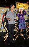 Days Of Our Lives National Tour - Blake Berris and Lauren Koslow on September 23, 2012 at The Shops at Mohegan Sun, Uncasville, Connecticut. (Photo by Sue Coflin/Max Photos)