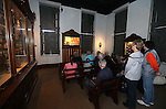 Visitors enjoy the Nevada State Museum during the Road to the Future celebration in downtown Carson City, Nev. on Friday, Oct. 28, 2016. <br /> Photo by Cathleen Allison