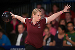 14 APR 2012: Megan Buja (04) of the University of Maryland Eastern Shore bowls during the Division I Womens Bowling Championship held at Freeway Lanes in Wickliffe, OH.  The University of Maryland Eastern Shore defeated Fairleigh Dickinson 4-2 to win the national title.  Jason Miller/NCAA Photos