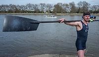 Putney, London,  Tideway Week, Championship Course. River Thames, 20170330 Athlete Portraits, Olivier SIELELAARi, NED and  Michael DISANTO. USA <br /> <br /> Thursday   30/03/2017<br /> <br /> [Mandatory Credit; Credit: Peter Spurrier/Intersport Images.com]
