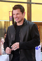 August 17, 2012 Nick Lachey 98 Degrees perform on the NBC's Today Show Toyota Concert Serie at Rockefeller Center in New York City.Credit:© RW/MediaPunch Inc. /NortePhoto.com<br />