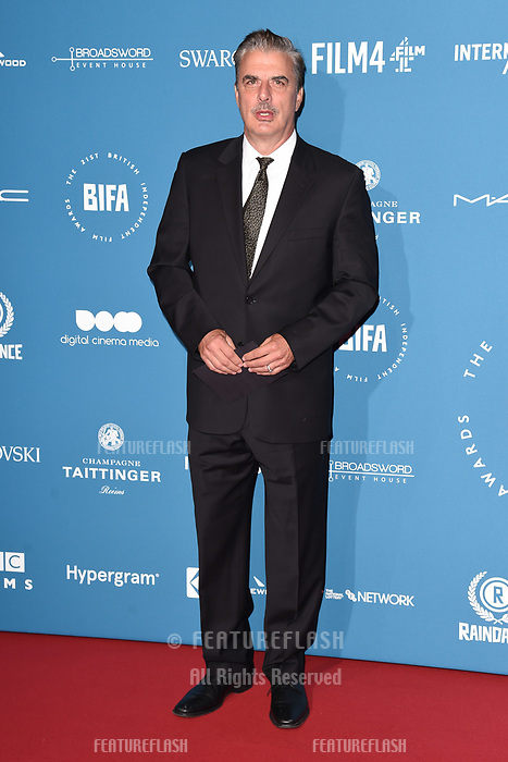 LONDON, UK. December 02, 2018: Chris Noth at the British Independent Film Awards 2018 at Old Billingsgate, London.<br /> Picture: Steve Vas/Featureflash