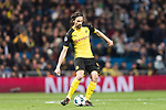 Borussia Dortmund Defender Neven Subotic in action during the Europe Champions League 2017-18 match between Real Madrid and Borussia Dortmund at Santiago Bernabeu Stadium on 06 December 2017 in Madrid Spain. Photo by Diego Gonzalez / Power Sport Images