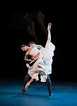 Svetlana Zakharova. Amore triple bill. Francesca Da Rimini. Coliseum Theatre, London.<br /> Francesca &ndash; Svetlana Zakharova<br /> Paolo &ndash; Denis Rodkin