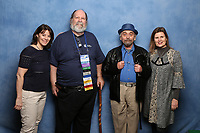 Sylvester McCoy, Sophie Aldred and Lisa Bowerman