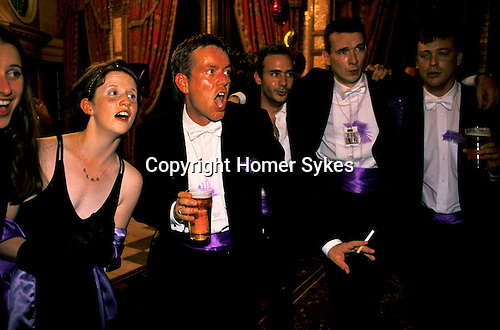 'GAYFEST MANCHESTER, UK', THE MANCHESTER BASED CHORAL GROUP 'THE CONCERT PARTY' AT THE LAVENDER BALL,